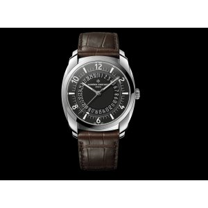 Vacheron Constantin [NEW] 4500s/000a-b196 Quai de L'Ile Date Mens Watch (Retail:HK$130,000)