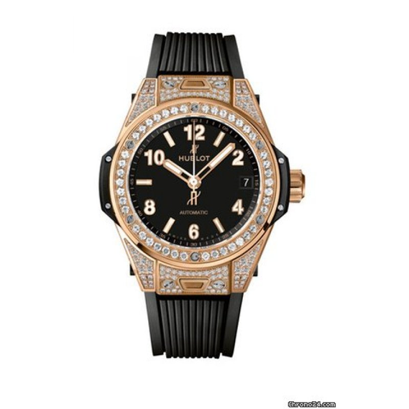 HUBLOT [NEW] BIG BANG ONE CLICK KING GOLD PAVE 465.OX.1180.RX.1604 (Retail:EUR 32100)