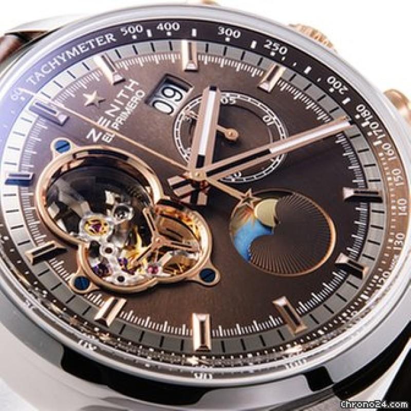 Zenith [NEW] El Primero Chronomaster Grande Date 51.2161.4047/75.C713 (Retail:EUR 12.400)