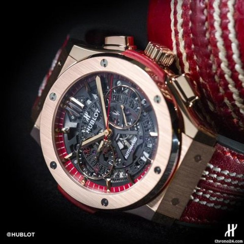 HUBLOT [NEW][LTD 100] Classic Fusion Aerofusion Cricket World Cup 2015 525.OX.0139.VR.WCC15 (Retail:HK$307,200)