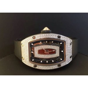 Richard Mille [NEW][RARE] RM 07-01 White Gold Ladies Full Set Diamond Watch