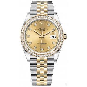 Rolex [NEW] Datejust 36mm 126283rbr Champagne Diamond Jubilee