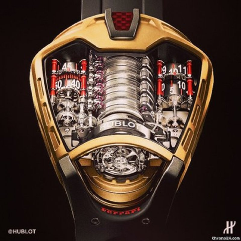 Hublot [NEW+RARE] Masterpiece 05 - LaFerrari 905.VX.0001.RX