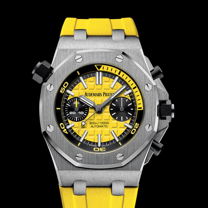 Audemars Piguet [NEW] Royal Oak Offshore Diver Yellow 26703ST.OO.A051CA.01 (Retail:HK$219,000)
