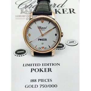 Chopard [NEW][LIMITED 188 PIECE] Texas HoldEm Poker Edition 161278-5017 (Retail:HK$90,000)