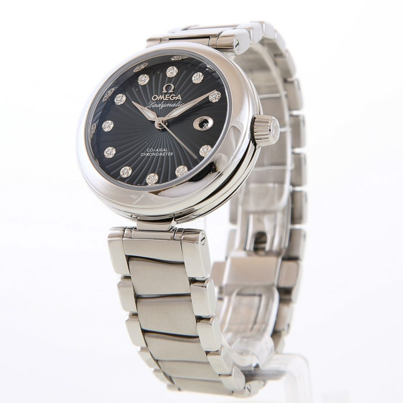 OMEGA [NEW] DEVILLE LADYMATIC LUXURY WATCH 425.30.34.20.56.001 (Retail:HK$60,800)