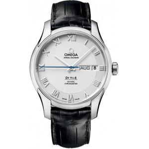 Omega [NEW] De Ville Annual Calendar Men's Watch 431.13.41.22.02.001 (Retail:HK$75,800)