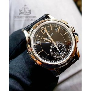 Patek Philippe [NEW] Annual Calendar Chronograph 5905P-010 Black Dial (Retail:HK$585,600)