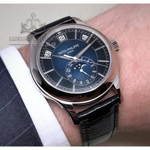 Patek Philippe [NEW] 5205G-013 Annual Calendar Blue Dial Mens Watch