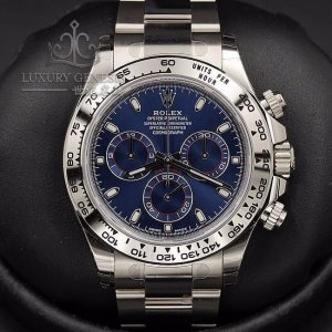 Rolex 勞力士 [NEW] Daytona 116509 White Gold Blue (Retail:HK$269,300)