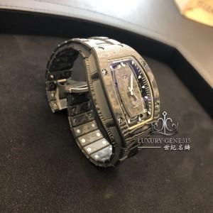 Richard Mille [NEW] RM 07-01 NTPT Carbon Closed Bracelet Automatic Ladies Watch