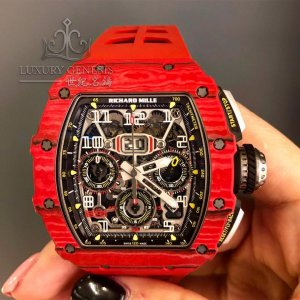 Richard Mille [NEW] RM 11-03 Red Quartz TPT NTPT Annual Calendar