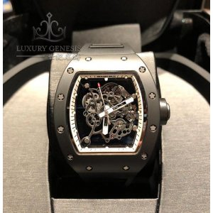 Richard Mille [2013 USED][LIMITED 30 PC] Bubba Watson RM 055 White Drive Americas Limited