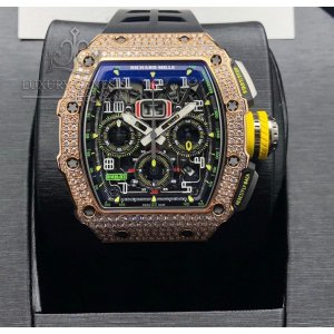 Richard Mille [NEW] RM 11-03 Rose Gold Pave Diamond Watch