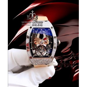 Richard Mille [NEW] RM 71-01 Automatic Tourbillon Talisman White Gold Ladies