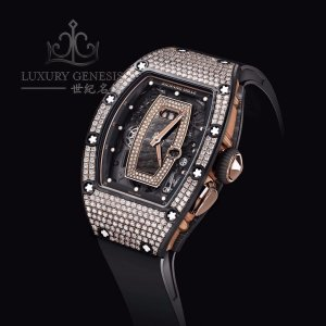 Richard Mille **NEW*RARE** RM 037 NTPT Full Pave Diamonds Ladies Watch