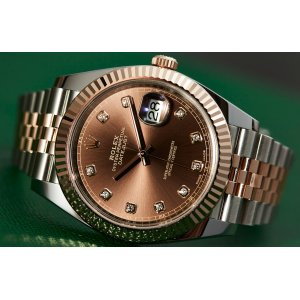 Rolex [NEW] Datejust 41mm 126331G Chocolate Diamond Jubilee Mens Watch