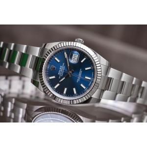 Rolex [NEW] Datejust 126334 Blue Oyster 41mm Mens Watch