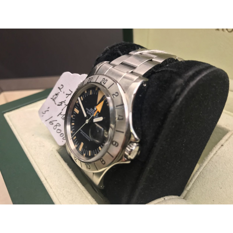 Rolex MINT-二手 1655 Explorer II 2.7m Mark I Vintage Watch