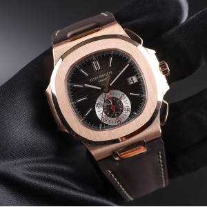 Patek Philippe [Rare][New] Nautilus 5980R-001 Rose Gold Chronograph (Retail:HK$447,300)