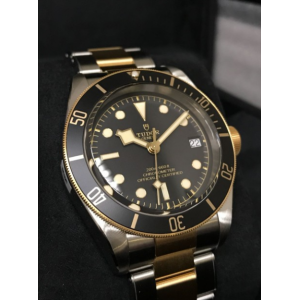 Tudor NEW-全新 79733N (Steel & Gold Bracelet) Heritage Black Bay S&G 41mm