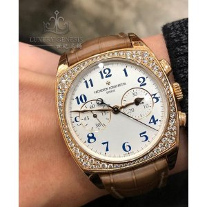Vacheron Constantin [NEW] Harmony Chronograph Manual Wind 37mm Ladies 5005S/000R-B053 (Retail:EUR 70200)