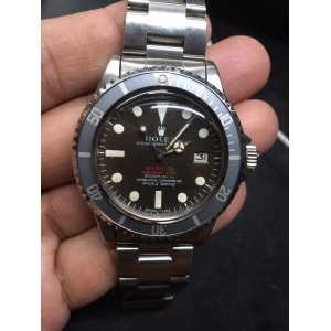 勞力士 (Rolex) [MINT][RARE VINTAGE] Double Red SEA-DWELLER 1665 Mark II Dark Brown Dial - SOLD!!