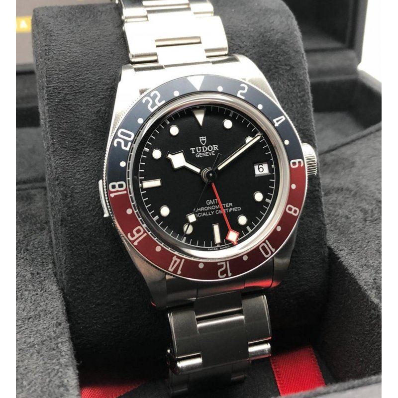 Tudor [NEW 2018 MODEL] BLACK BAY GMT 79830RB-0001