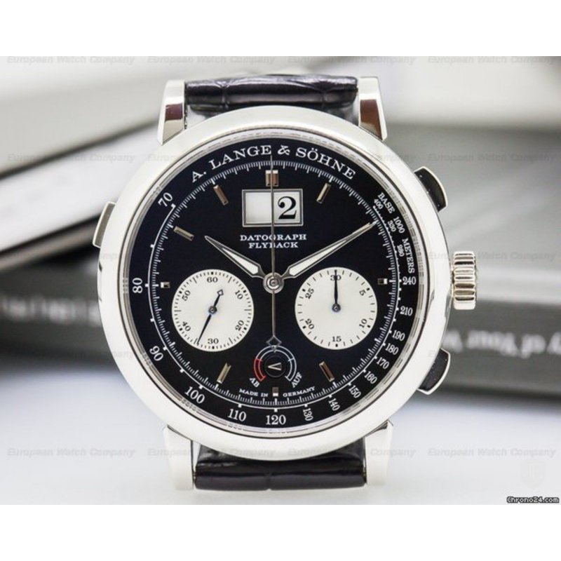 A Lange and Sohne [全新] 405.035 Datograph (Retail:EUR$82,500) - SOLD!!