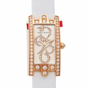 HARRY WINSTON [全新] AVCQHM16RR001 Avenue C Rose Gold Diamond (Retail:US$26,800)