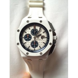 Audemars Piguet [LIKE-NEW] 26402CB ROYAL OAK OFFSHORE CHRONOGRAPH WHITE 44mm - SOLD!!