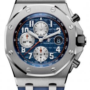 Audemars Piguet [NEW] 42mm Royal Oak Offshore Chronograph Navy 26470ST.OO.A027CA.01 (Retail:HK$201,000)