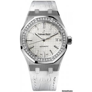 Audemars Piguet [NEW] Royal Oak Ladies Self Winding 37 mm 15451st.zz.d011cr.01 (Retail:HK$186,000)