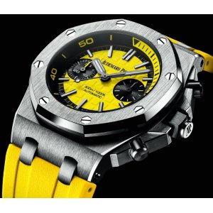 Audemars Piguet [NEW] Royal Oak Offshore Diver Yellow 26703ST.OO.A051CA.01 (Retail:HK$219,000) - SOLD!!