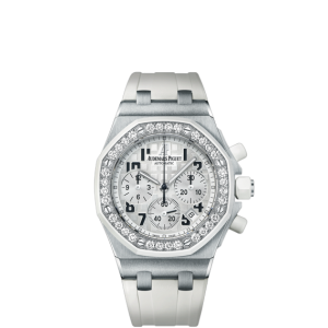 Audemars Piguet [NEW] Royal Oak Offshore Ladies White Dial 26048SK (List Price: HK$224,000) - SOLD!!