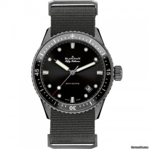 Blancpain [NEW] Fifty Fathoms Bathyscaphe Automatic 43mm Men's watch 5000-0130-NABA