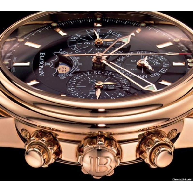 All Watches : Blancpain [NEW] Leman Flyback Chrono