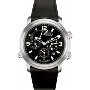 Blancpain [NEW] Leman Reveil GMT 2041-1230-64B Mens Watch (Retail:EUR 22240)
