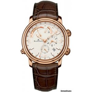 Blancpain [NEW] Leman Reveil GMT Mens 2841-3642-53B (Retail:HK$288,500)