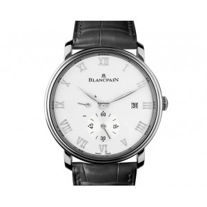 Blancpain [NEW] Villeret Small Seconds Date & Power Reserve Mechanical 6606-1127-55b (Retail:HK$77,000)