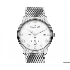 Blancpain [NEW] Villeret Small Seconds Date & Power Reserve Mechanical 6606-1127-MMB (Retail:HK$96,000)