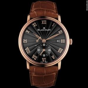 Blancpain [NEW] Villeret Small Seconds Date & Power Reserve Mechanical 6606-3630-55B (Retail:HK$154,000)