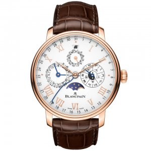 Blancpain [NEW] Villeret Traditional Chinese Calendar 0888-3631-55b (Retail:HK$530,500)