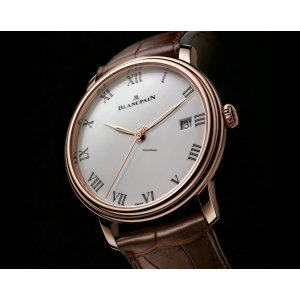 Blancpain [NEW] Villeret Ultra Slim Automatic 40mm Mens 6651-3642-55B (Retail:EUR 18.470)
