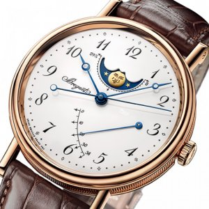 Breguet [NEW] 39mm Classique Moonphases 7787BR/29/9V6 (Retail:CHF$28,400)