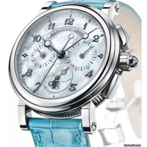 BREGUET [NEW] MARINE STAINLESS STEEL LADIES 8827ST/5W/986 (Price On Request)