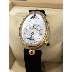 Breguet NEW-全新 8908BA/52/864/D00D Reine de Naples Power Reserve (Retail:CHF$32,400)