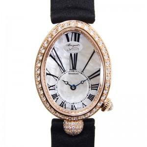 Breguet [NEW] Reine de Naples Mother of Pearl Rose Gold Ladies 8928BR/51/844.DD0D (Retail:CHF 34200)