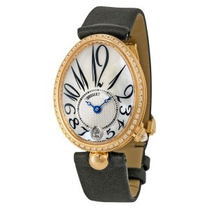 Breguet [NEW] Reine de Naples Mother of Pearl Yellow Gold Diamond Ladies 8918BA/58/864.D00D (Retail:CHF 31400)