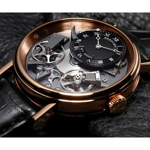 Breguet [NEW] Tradition Automatic Skeleton Dial Rose Gold Mens 7057BR/G9/9W6 (Retail:HK$219,700)